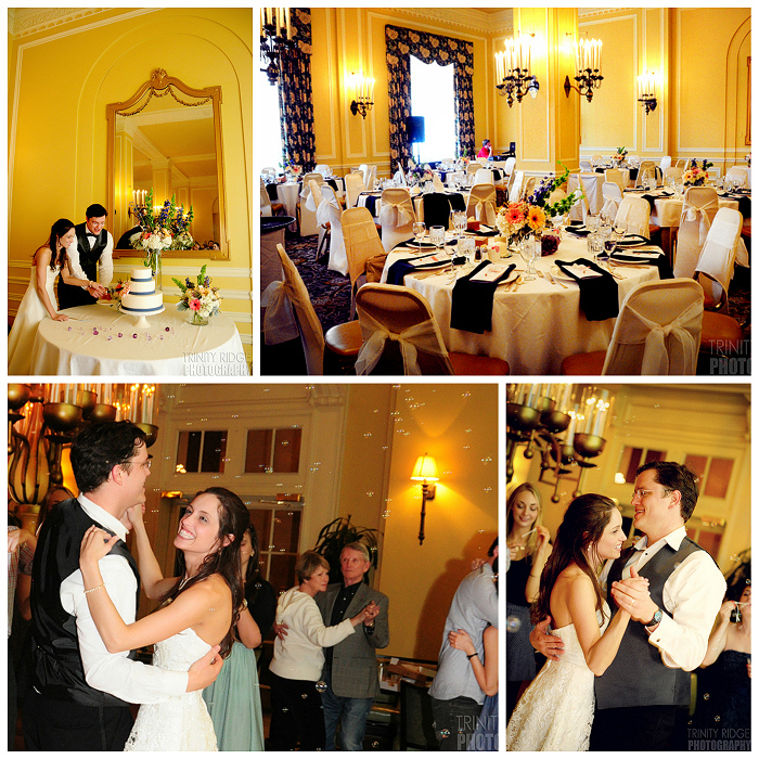 Arlington Hotel Hot Springs Wedding Reception