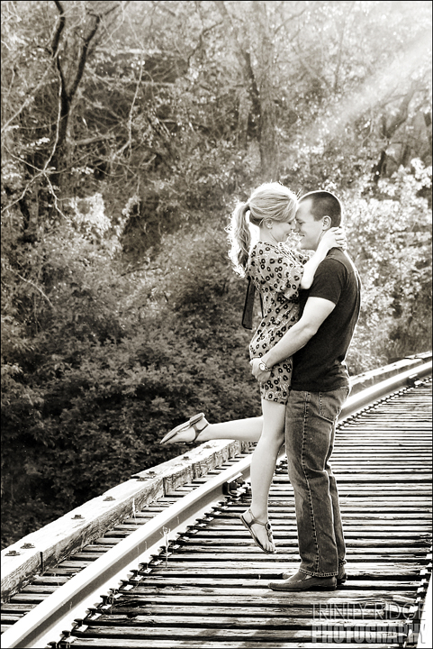 Eureka Springs Engagement Session