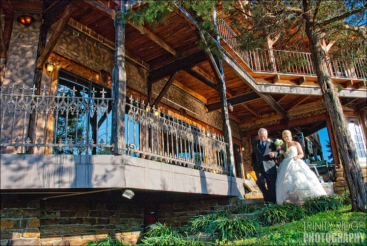 Eureka Springs Wedding Castle Rogue's Manor  Beaver Arkansas