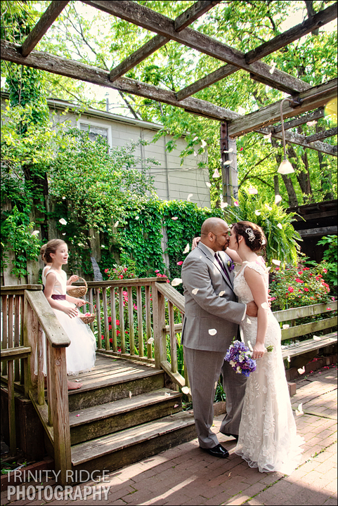 The Garden Room Fayetteville Arkansas Wedding