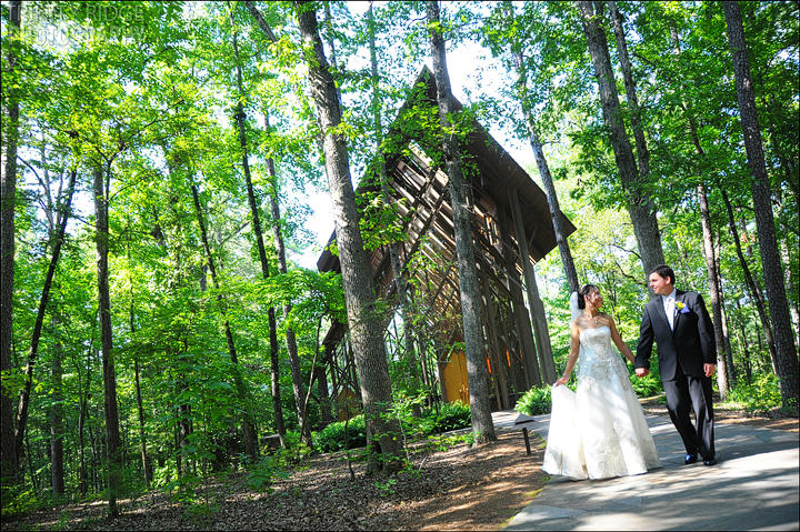 Garvan Woodland Gardens Wedding Hot Springs Arkansas Wedding Photographers