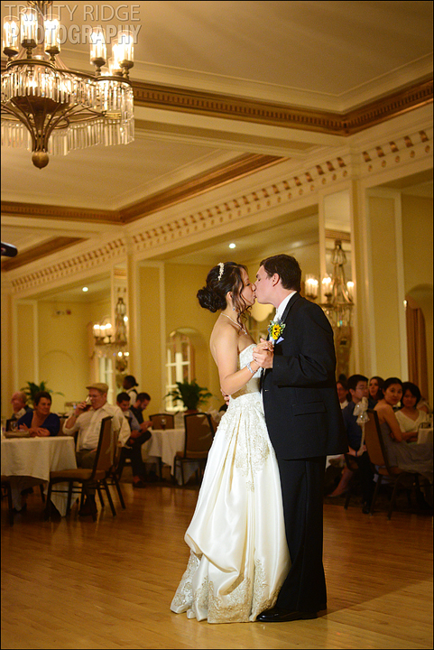 Arlington Hotel Reception Wedding Hot Springs Arkansas Wedding Photographers