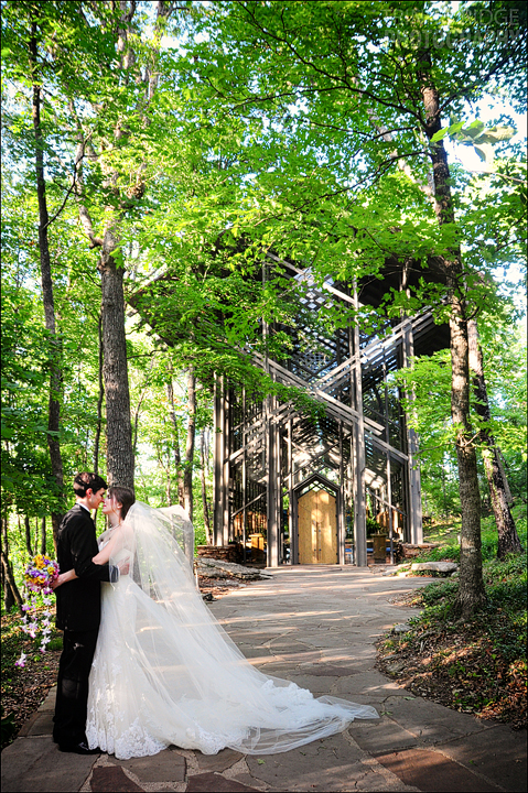 Thorncrown Chapel Wedding Eureka Springs Arkansas Glass Church Photography