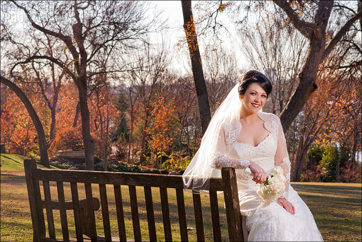 Dallas Arboretum Bridal Session Wedding Photography