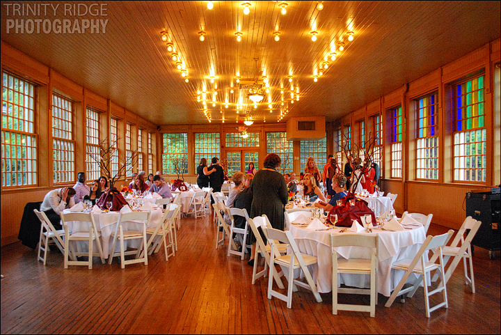 Basin Park Hotel Reception Eureka Springs Arkansas Wedding Photography
