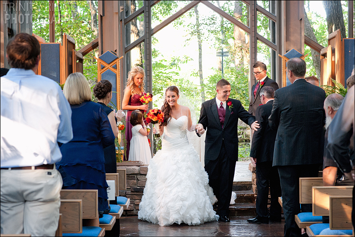 Thorncrown Chapel Wedding Eureka Springs Arkansas Photographers