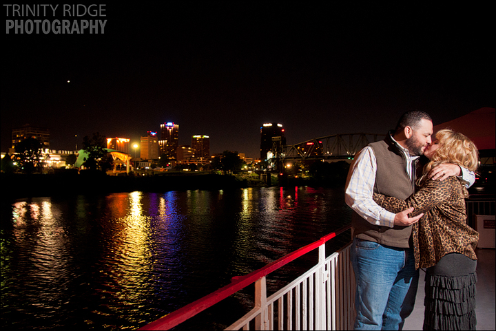 Mark Twain Riverboat Wedding Reception Little Rock Arkansas