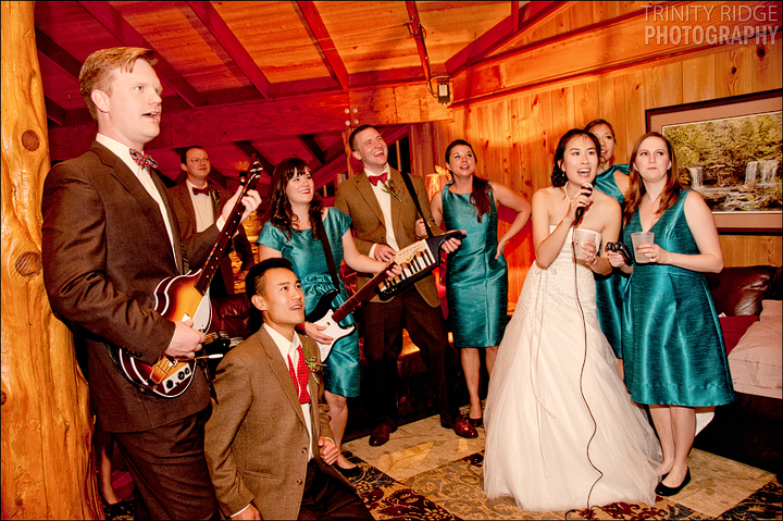Rock Band Ponca Arkansas Wedding