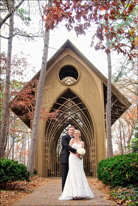 Mildred B. Cooper Memorial Chapel Bella Vista Arkansas Wedding