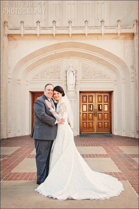 Dallas Texas Wedding St. Thomas Aquinas