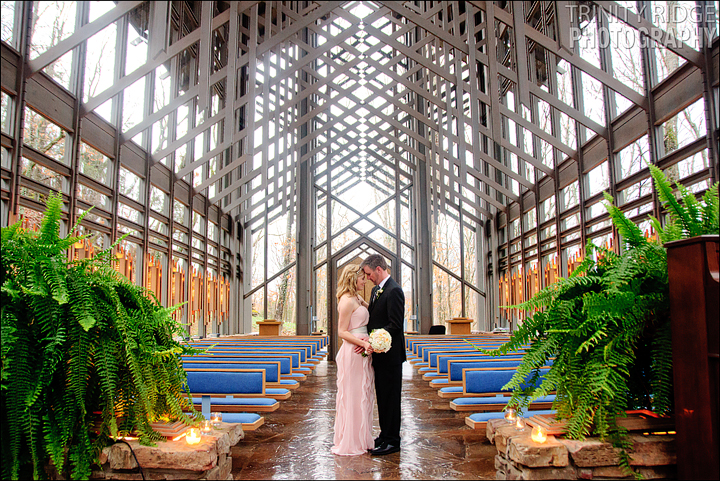 Thorncrown Chapel Wedding Eureka Springs Arkansas