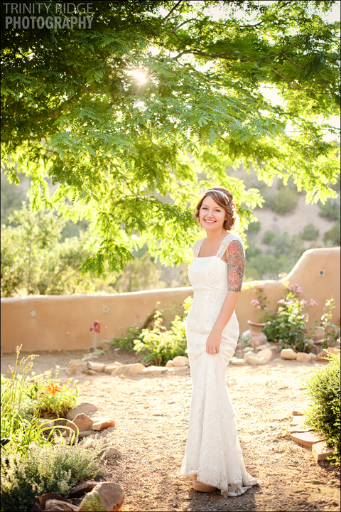 Santa Fe New Mexico Wedding Hacienda Dona Andrea Wedding Photographers Bride
