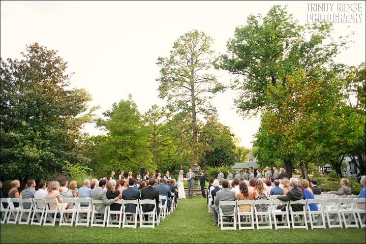 Crescent Hotel Outdoor Wedding Eureka Springs Arkansas Photographers