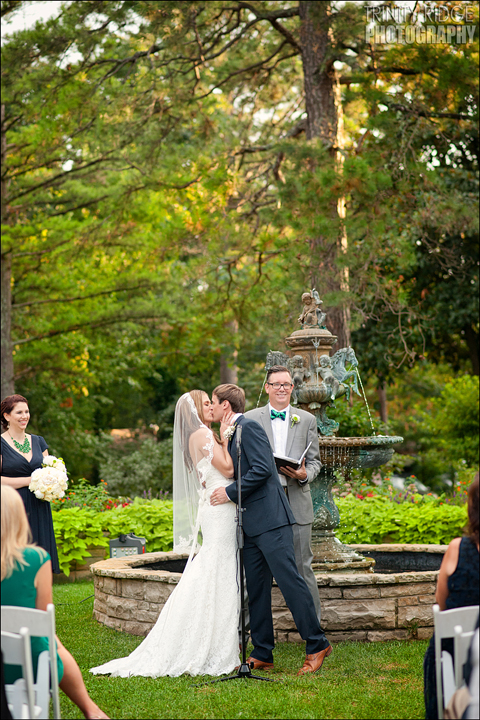 Crescent Hotel Outdoor Wedding Eureka Springs Arkansas Photographers
