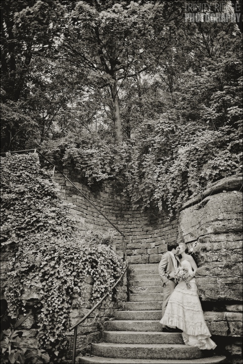 bride and groom wedding eureka springs arkansas